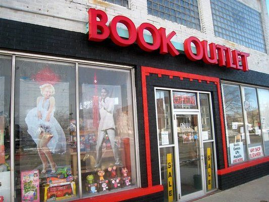 Book Outlet and More  (716) 931-5866  |  1700 Main St  |  Buffalo, NY 14209