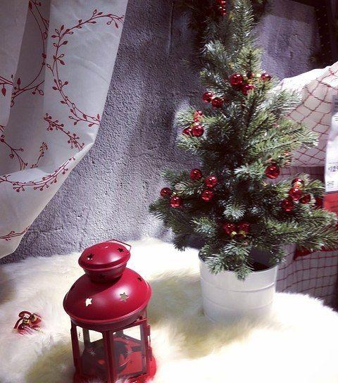 Il #Natale come lo vede @ikeaitalia  #ChristmasTime #Natale2016 #IKEA