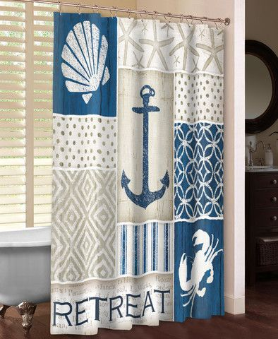Beautiful 127 best Shower Curtains images on Pinterest | Bathroom ideas  ZD06