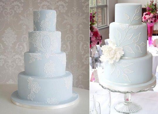 18 PRETTY SERENITY WEDDING CAKE INSPIRATIONS