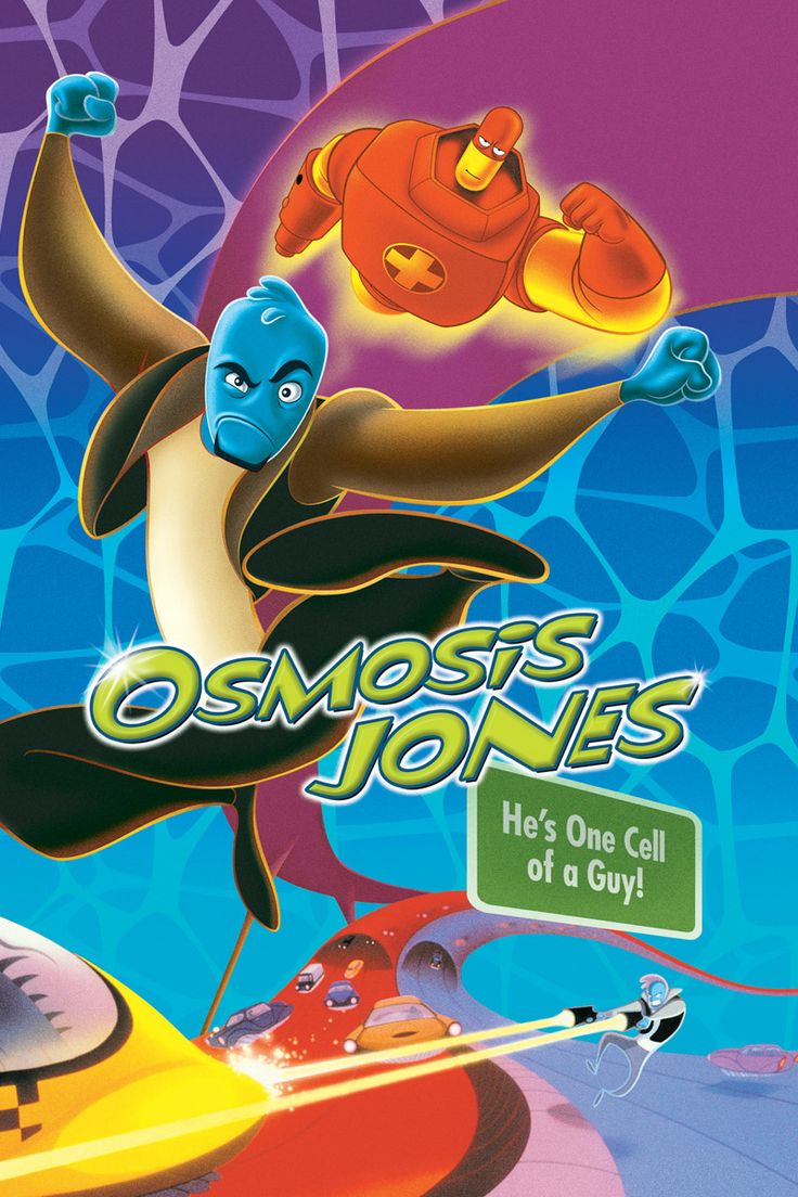 Osmosis Jones - Great to show for human body. There's also a quiz/worksheet for this movie on this board!