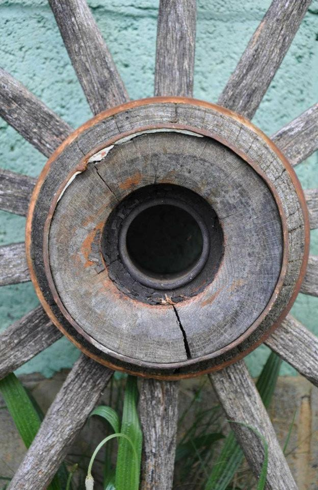 Old wagon wheel my photography pinterest wagon for Things to do with old wagon wheels
