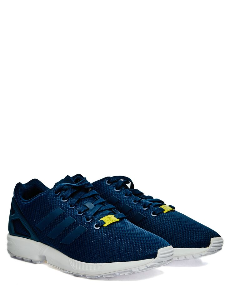 Adidas ZX Flux new navy/new navy/running white sneakers M19841 Sneakers på Zoovillage