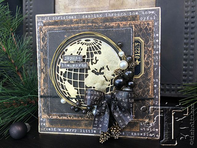 hand-made holiday cardsare one of my favorite ways tosharea little creative magic with others. today vicki evans (aka: that crazy chick) shows how to makethree unique styles of holiday cards u...