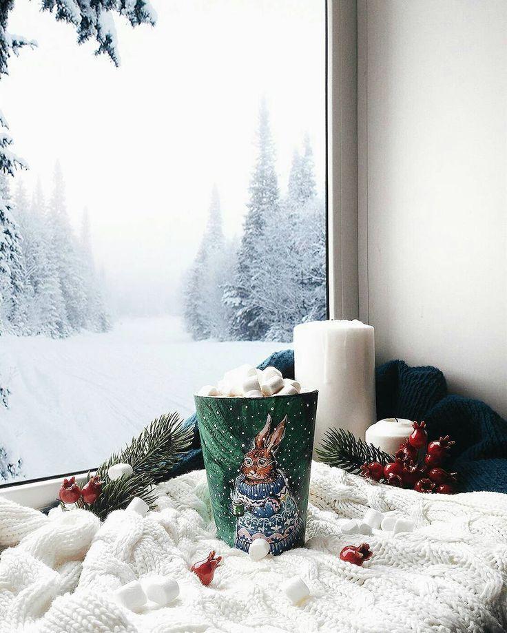Картинки доброе утро снегопад