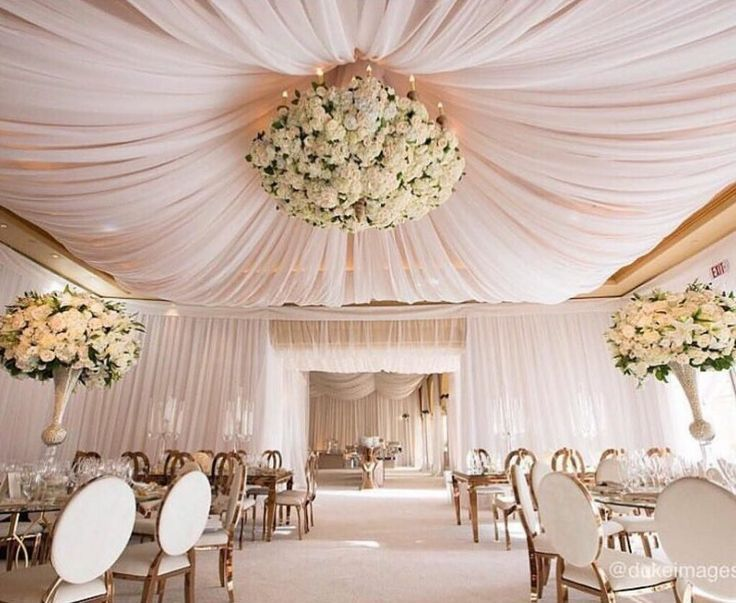 50 Gorgeous Wedding Decoration Ideas With So Many Possibilities For A Beautiful Wedding Yo Elegant Wedding Reception Wedding Ceiling Wedding Decorations