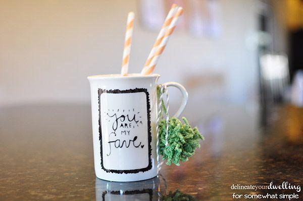 Sharpie Mug Art pom, Delineateyourdwelling.com