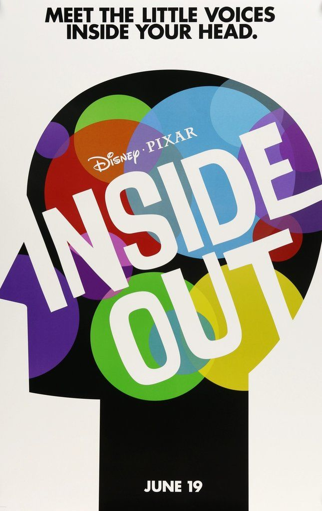 Inside Out (2015) Original One-Sheet Movie Poster