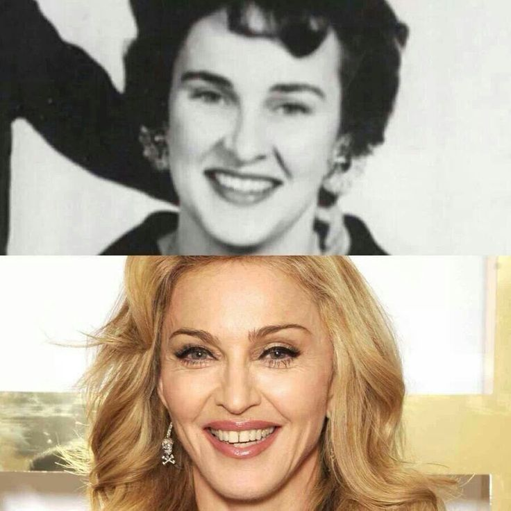 Madonna and Madonna senior
