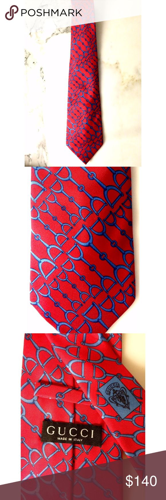 Tom Ford era Gucci silk tie Gucci tie from 1998  100% silk Made in Italy   Excellent Condition Gucci Accessories Ties