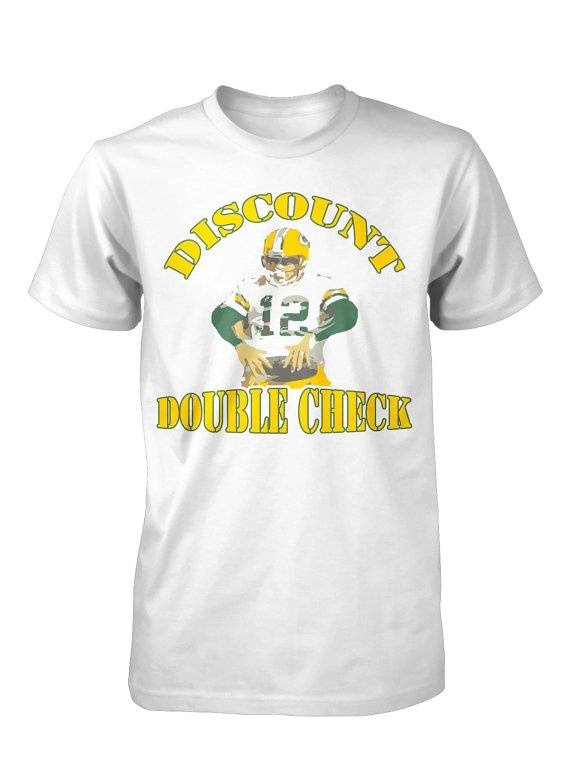 Discount Double Check shirt Aaron Rodgers....FunhouseTshirts, $14.99