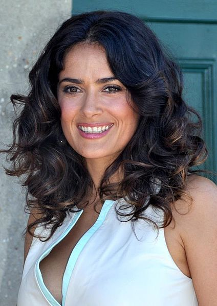 Salma Hayek Eats Fat to Look Young ~ http://www.thehealthyhomeeconomist.com/salma-hayek-eats-fat-to-look-young/#