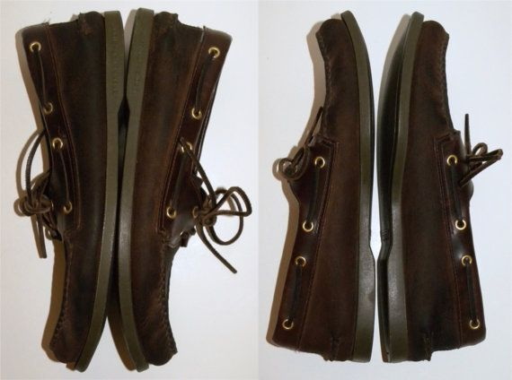 Vintage Sperry Topsider shoes / Dock shoes by JewvenchyVintageshop