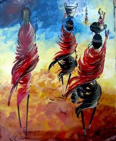 Beautiful Masai knife work  Available to order as commissioned work art@kilitingatinga.com.au