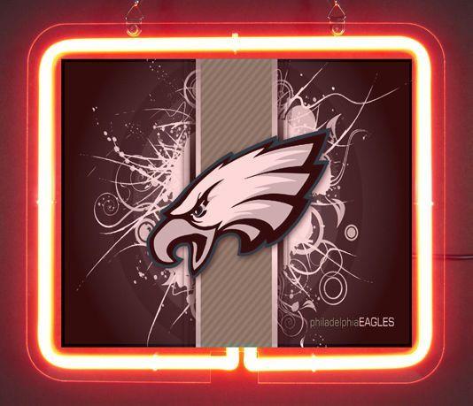 Philadelphia Eagles Football Neon Light Sign