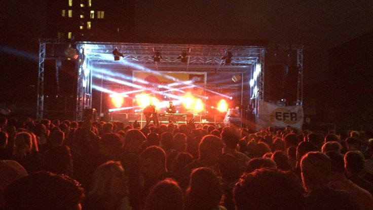 Festival Erasmus Universiteit by Advance Events, Rotterdam
