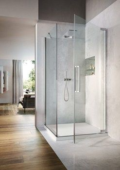 Flare, la nuova cabina doccia Vismaravetro al Cersaie