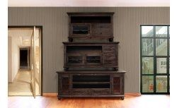 Reclaimed barn wood rustic tv stands man cave furniture antique thick and chunky television stands for sale online