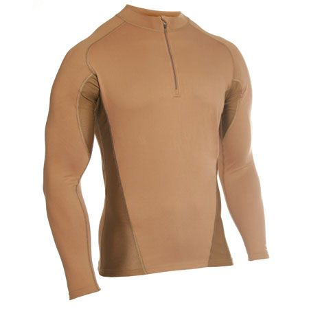 "The new and improved Warrior Wear™ Thermostatic Base-Layer™ Garments are designed to regulate body temperature, wick moisture, dry quickly, and control odor.The Engineered Fit™ Series allows you to choose between a body-contoured Standard Fit and full Compression Fit simply by size selection. Select one size down from your normal size to achieve a Compression Fit, a true next-to-skin, no-movement fit which eliminates potential friction-related ""hot spots"" and helps reduce muscle ..."