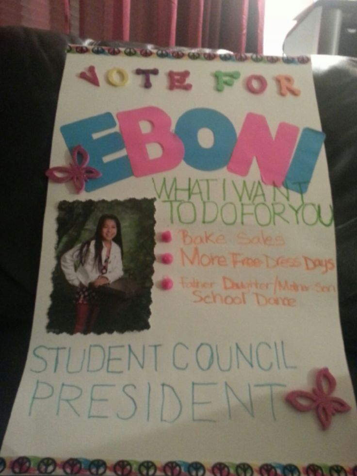 student council reporter campaign slogans | just b.CAUSE