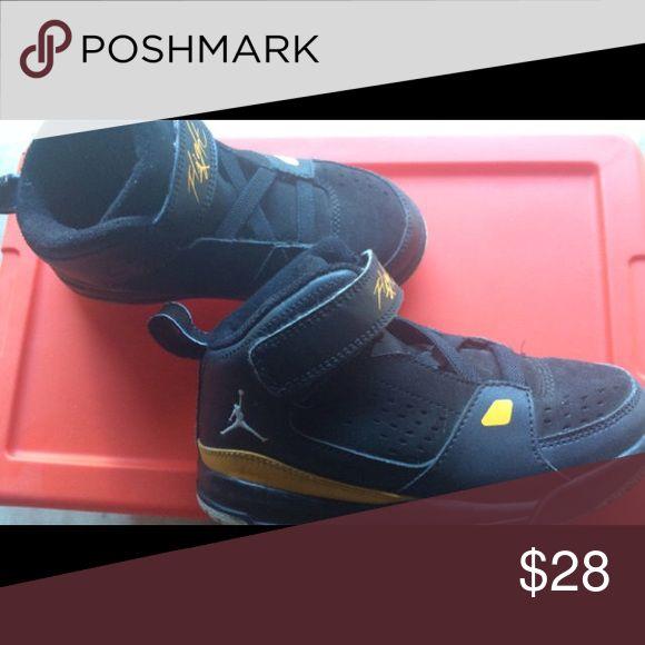 Jordan Flight shoes Jordan Flight shoes. Size 10 toddler. Great condition. Jordan Shoes Sneakers