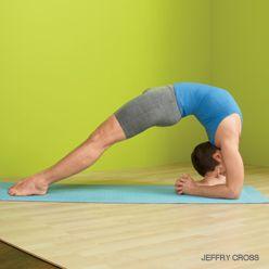 Dwi Pada Viparita Dandasana via Yoga Journal, so many incredible poses