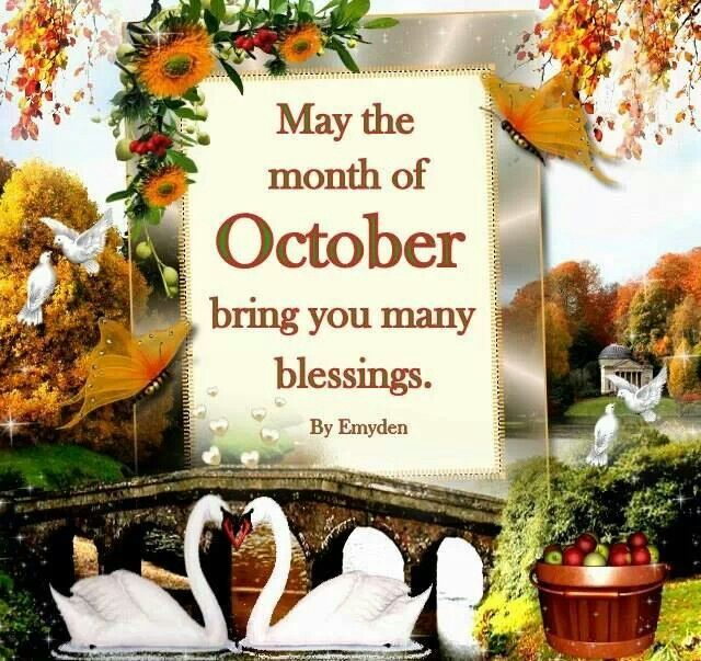 17 Best Images About October On Pinterest Hello Autumn, October Quotes And .