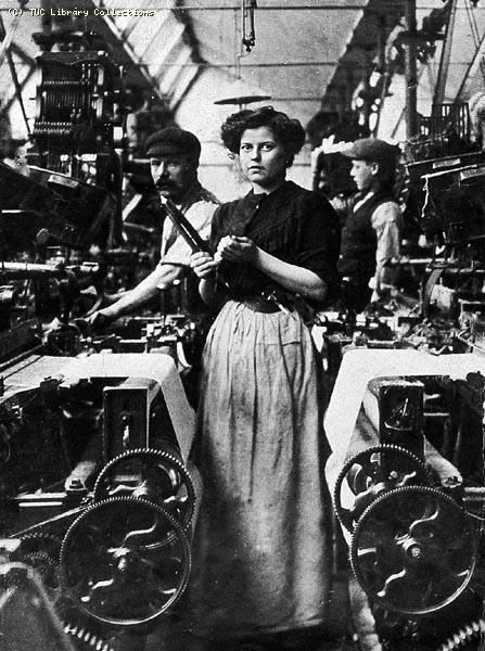 Lancashire Mill Girl, circa 1905