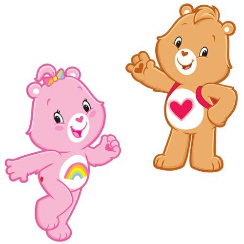 Brewster ST99834 Care Bears Wall Stickers @ niftywarehouse.com