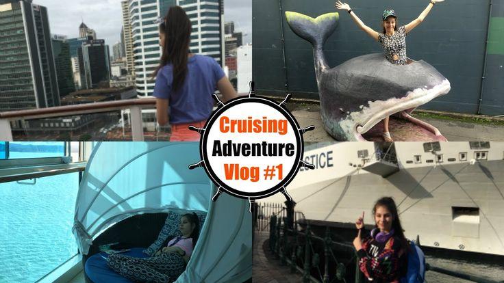 Celebrity Solstice Cruise Ship Holiday Adventure Vlog #1 | CHANTELLE PEL...