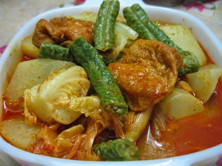 veg curry Sumptuous Flavours: Malaysian Food