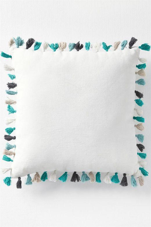 mt square circus tassle cushion