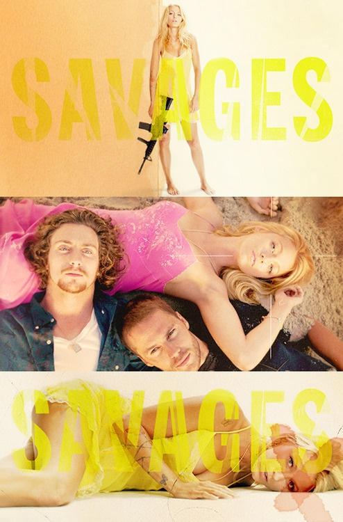 Blake Lively, Aaron Johnson and Taylor Kitsch in Savages. I loved the imagery and music. I felt the sun and the waves.