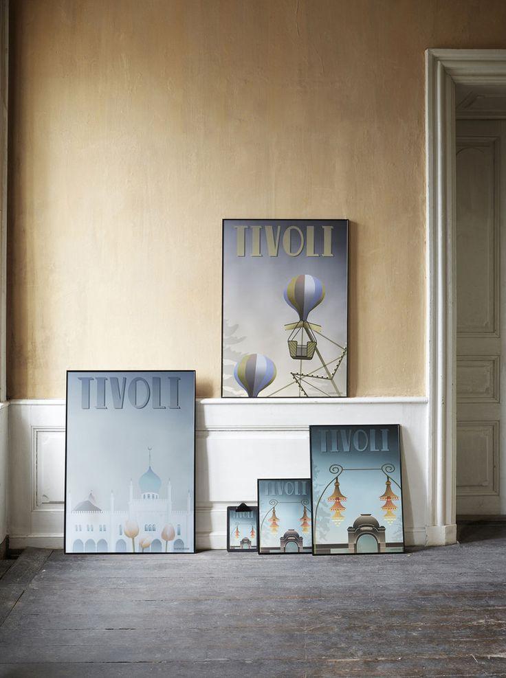 Tivoli plakater fra Vissevasse.