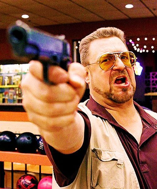 John Goodman as Walter Sobchak in 'The Big Lebowski' (1997)