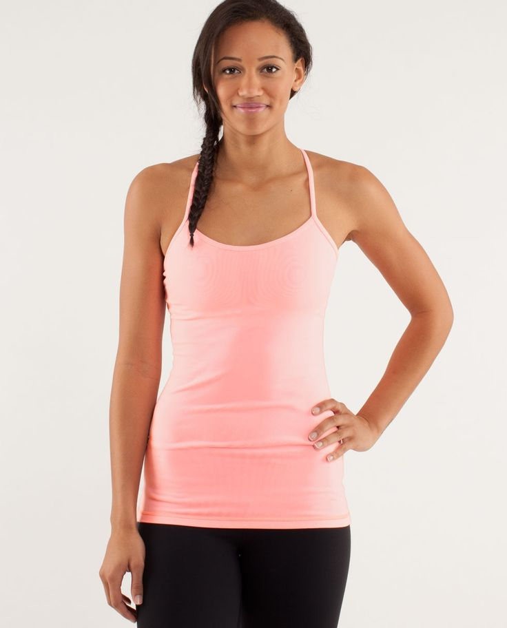 Perfect Tank for gym, yoga, running and also the hard mornings