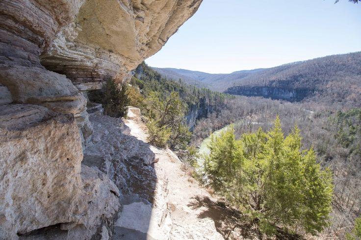 Centerpoint To Goat Trail, Buffalo National River Wilderness, Arkansas, Usa [oc] (1500x900)