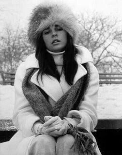 This week we're having our very own love story with Ali MacGraw's preppy winter wardrobe. There's tartan skirts, camel coats, bobble beanies, military coats, flares, knee-high boots and amazing knits all wrapped up in oversized scarves. What's not to love? http://fashionfix.net-a-porter.com/newsflash/style-icon-ali-macgraw