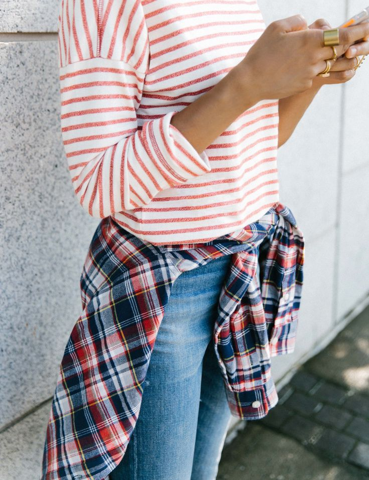 stripes and plaid: