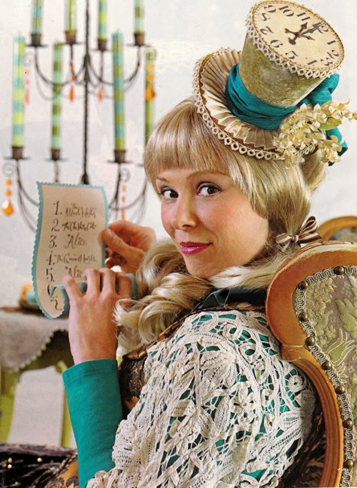 Why let Alice have all the fun in Wonderland? We love this Mad Matter costume!