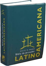 Biblia Latino Americana de bolsillo. Tapa y funda de plástico serigrafiada a 2 colores.