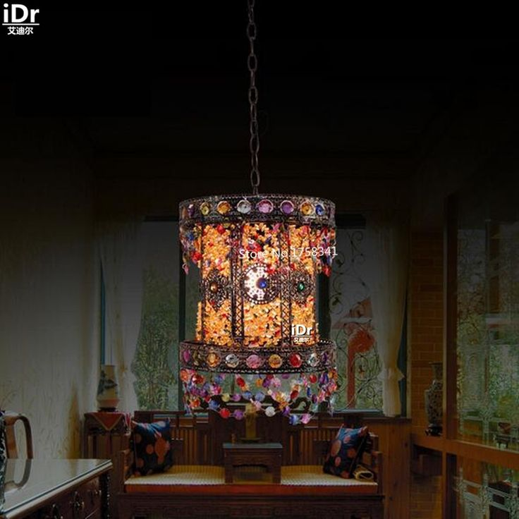 198.00$  Watch now - http://aligg6.worldwells.pw/go.php?t=32656149697 - Mediterranean mood light bar aisle retro bedroom lamp bedside lamp children's room  Pendant Lights  Rmy-0653