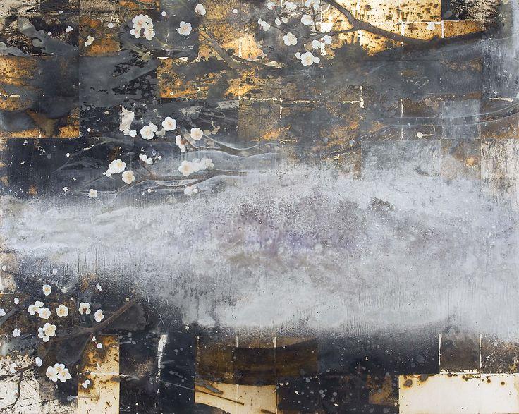 中天への地図 油彩 2012 91.5cm×117.0cm