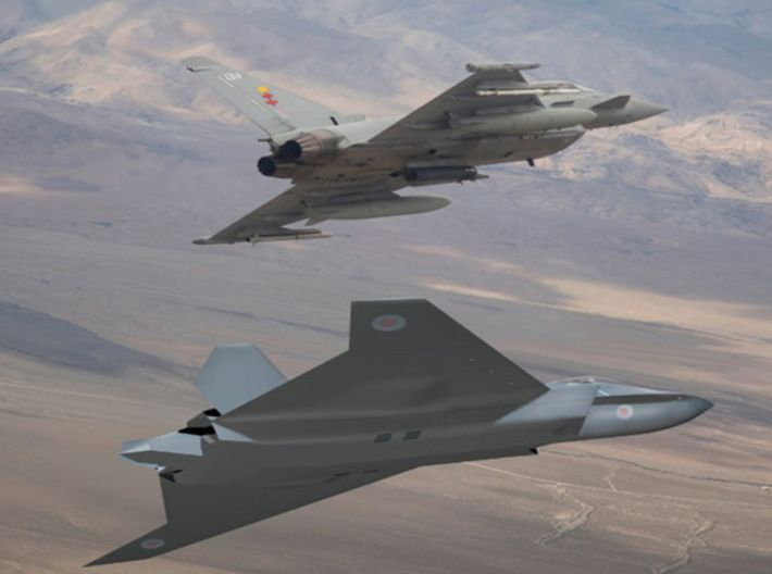 Bae Systems Tempest 6th Generation Fighter By Comradewave On Shapeways In 2020 Fighter Jets Bae Systems Fighter