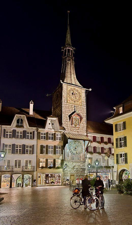 Solothurn - evening in the city, Switzerland | by Erich Ruck