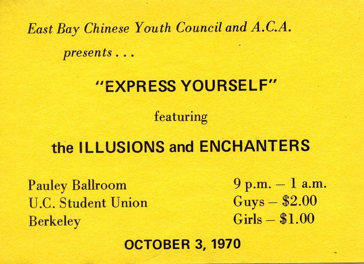 The Illusions and The Enchanters at Pauley Ballroom.