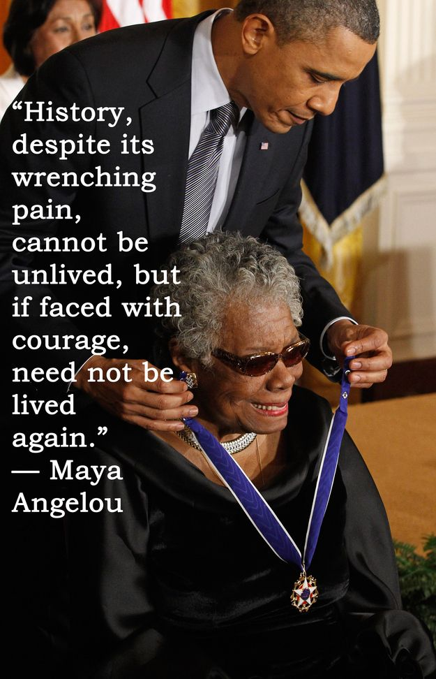 an introduction to the life of maya angelou Though i did not know her personally, author-poet-truth-teller dr maya angelou gave me one of life's greatest gifts: the courage to speak seeing as the number three is said to represent creativity, joy, and inspiration, and five personal freedom and adventure, i offer you 35 maya.
