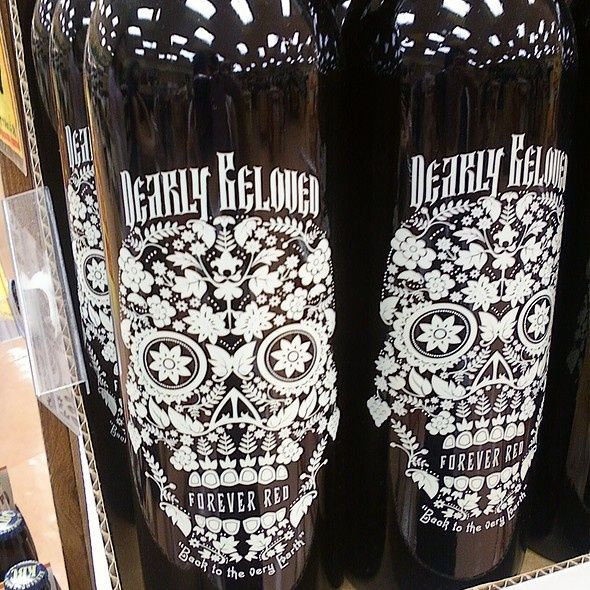 dia de los muertos wine trader joes | Dearly Beloved Forever Red Wine