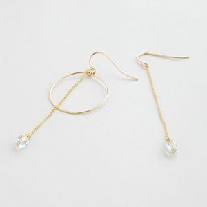 正規販売店♪送料無料♪【RueBelle Designs/ルーベルデザインズ】 Earrings 14k gold filled chain & findings topaz カラーCrystal & Gold【楽天市場】