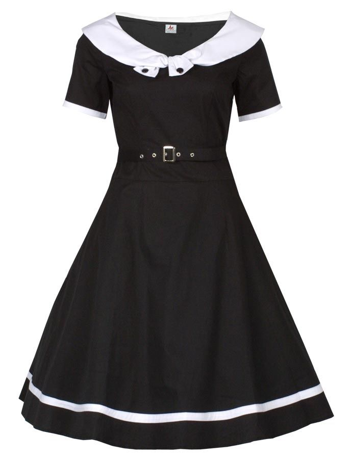 1940er Swing Dress - Rockabilly Clothing - Online Shop für Rockabillies und Rockabellas